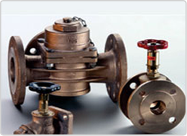 Drain valves, three-way valves and gate valves for oil-cooled transformers